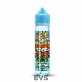 TROPIKA ICED 50ML SHORTFILL E-LIQUID BY TWELVE MONKEYS E-LIQUID