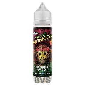 HAKUNA SHORTFILL ELIQUID by TWELVE MONKEYS