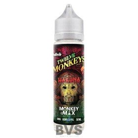 HAKUNA SHORTFILL E-LIQUID BY TWELVE MONKEYS 50ML