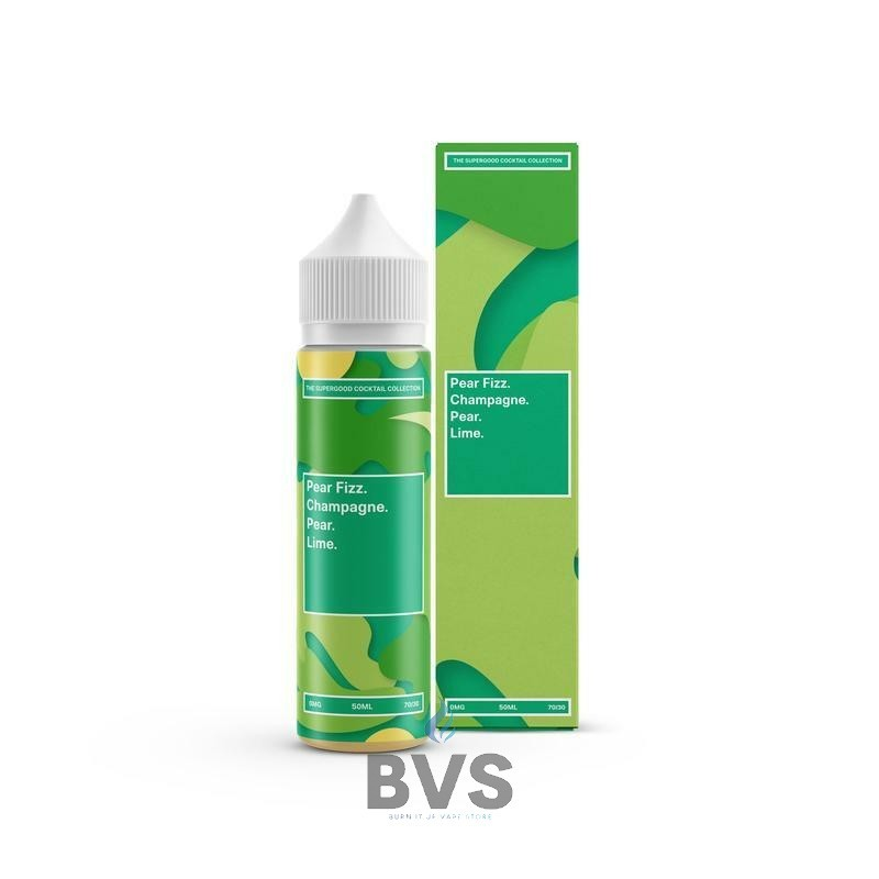 Pear Fizz by Supergood. 50ml