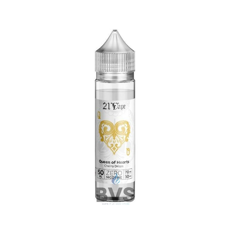 QUEEN OF HEARTS SHORTFILL E-LIQUID BY RED LIQUID 21
