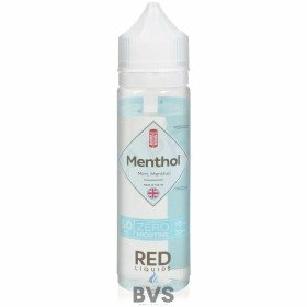 MENTHOL SHORTFILL E-LIQUID BY RED LIQUID CLASSICS