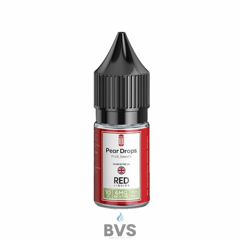 PEAR DROPS E-LIQUID BY RED LIQUID 40/60