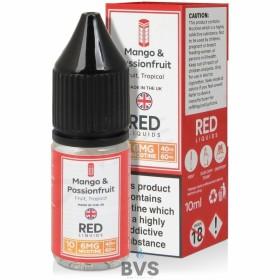 MANGO AND PASSIONFRUIT E-LIQUID BY RED LIQUID 40/60