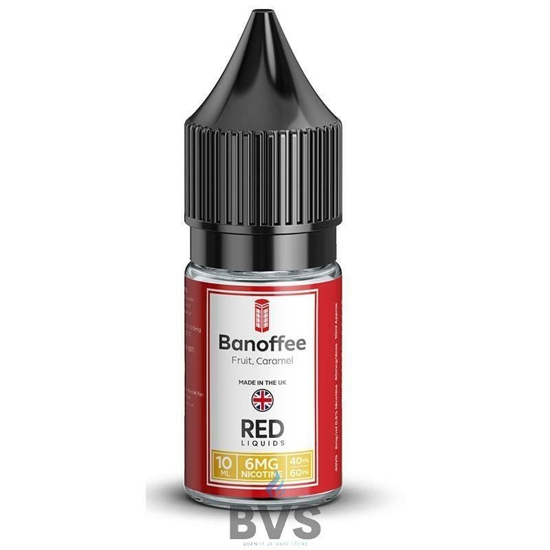 BANOFFEE E-LIQUID BY RED LIQUID 40/60