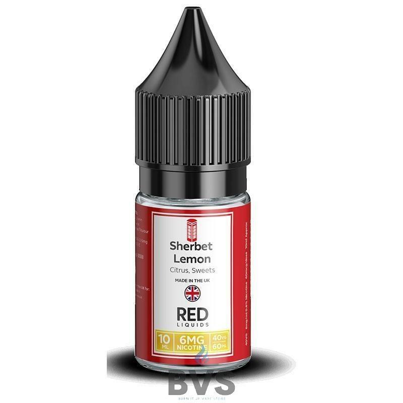 SHERBET LEMON E-LIQUID BY RED LIQUID 40/60