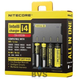 NITECORE I4 VAPE BATTERY CHARGER (FOUR BAY)