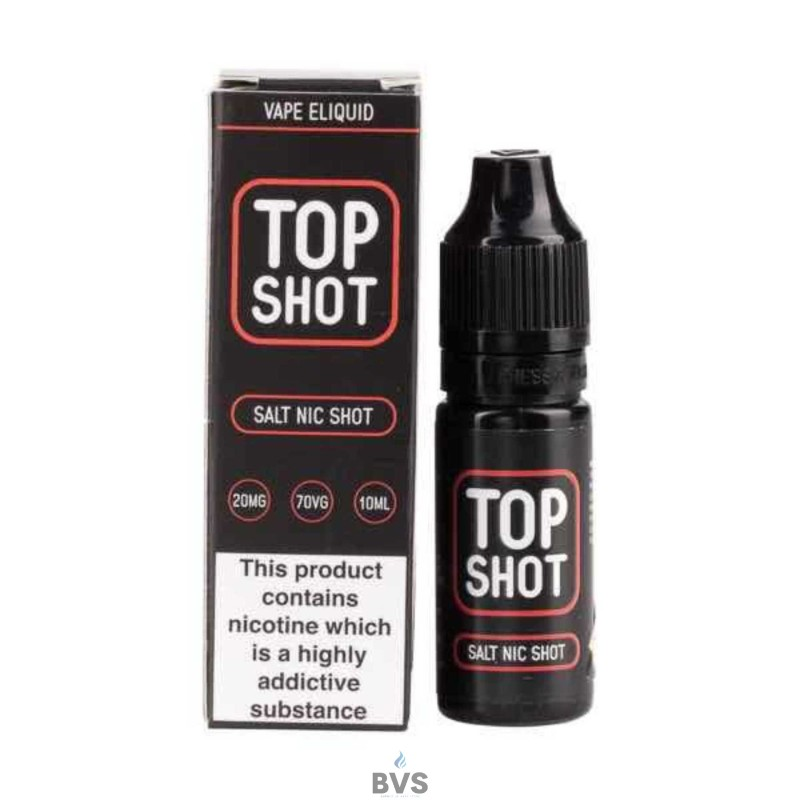 TOP SHOT 70VG SALT NIC SHOT BY TOP SHOT