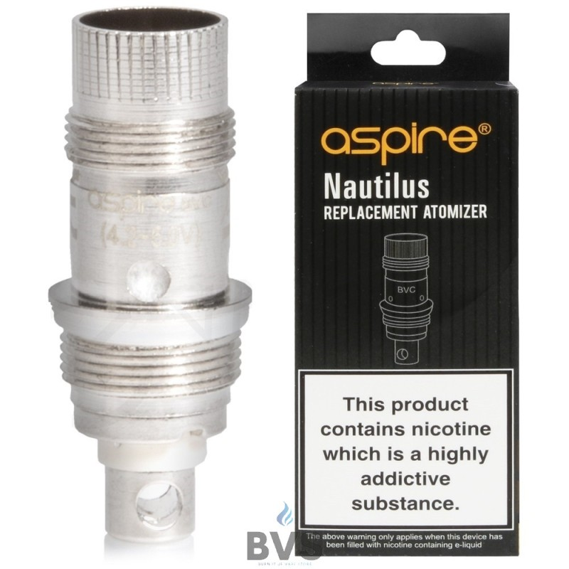 ASPIRE NAUTILUS REPLACEMENT COIL (BVC)  (Pack of 5)