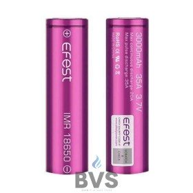 Efest 18650 3000mah 35A - Single Battery