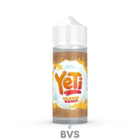 ORANGE MANGO BY YETI E LIQUID 100ML SHORT FILL