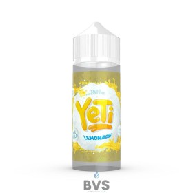 LEMONADE BY YETI E LIQUID 100ML SHORT FILL