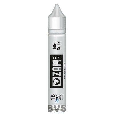 Nic Salts Nicotine Shot by Zap Juice eLiquid 10ml Bottles