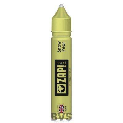 Snow Pear Niic Salt by Zap E Liquid 10ml Bottle  50/50