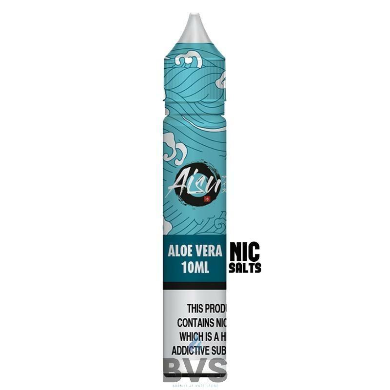 Aloe Vera Nic Salt by Aisu Zap Juice 10ml Bottle 50/50