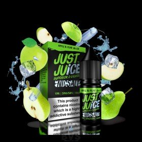 Apple & Pear On Ice  by Just Juice E Liquid 10ml Bottle