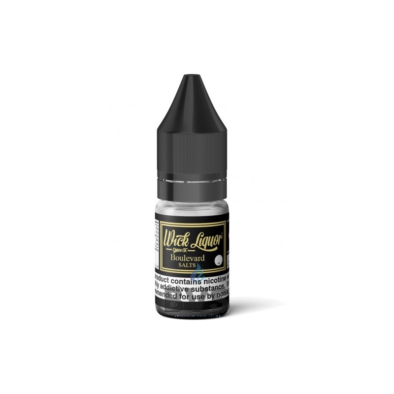 BOULEVARD ELIQUID 10ML Nic Salt by Wick Liquor