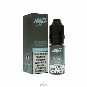 SICKO BLUE E-LIQUID BY NASTY SALTS