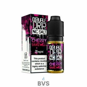 CHERRY BAKEWELL NIC SALT by DOUBLE DRIP Eliquid