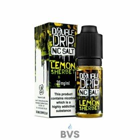LEMON SHERBET NIC SALT ELIQUID BY DOUBLE DRIP