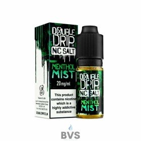 MENTHOL MIST NIC SALT ELIQUID BY DOUBLE DRIP