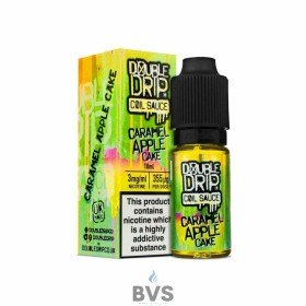 DOUBLE DRIP CARAMEL APPLE CAKE ELIQUID
