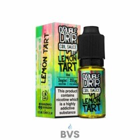 LEMON TART ELIQUID BY DOUBLE DRIP