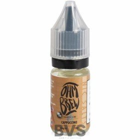 OHM BREW CAPPUCCINO ELIQUID 50/50 NIC SALTS