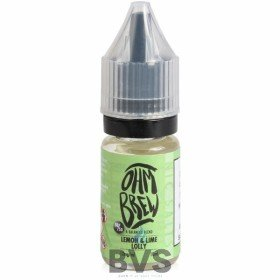 LEMON AND LIME LOLLY E-LIQUID BY OHM BREW 50/50 NIC SALTS