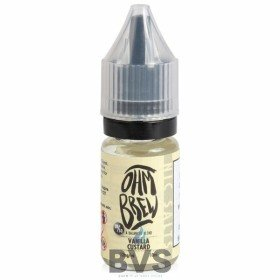 VANILLA CUSTARD E-LIQUID BY OHM BREW 50/50 NIC SALTS