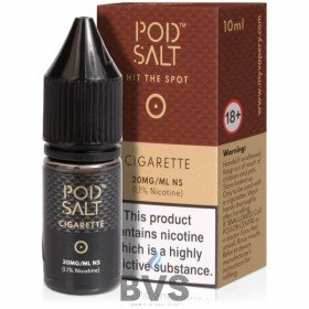 Cigarette Nicotine Salt ELiquid by Pod Salt