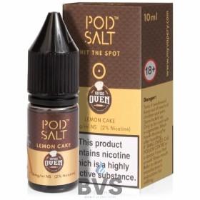 Lemon Cake Nicotine Salt E-Liquid by Pod Salt Fusions