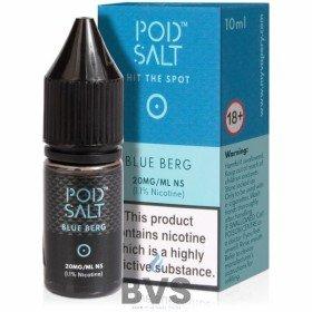 Blue Berg Nicotine Salt E-Liquid by Pod Salt