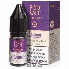 Blueberry Jam Tart Nicotine Salt E-Liquid by Pod Salt Fusions
