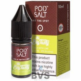 Cola With Lime Nicotine Salt ELiquid by Pod Salt Fusions