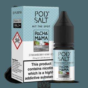 Pacha Mama Strawberry Kiwi Ice E-Liquid by Pod Salt Fusions