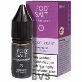 Blackcurrant Nicotine Salt E-Liquid by Pod Salt