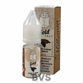GOLD NIC SALT E-LIQUID BY THE MILKMAN