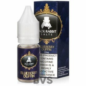 BLUEBERRY DUFFIN NIC SALT E-LIQUID BY JACK RABBIT