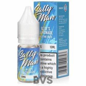 BLUES LEMONADE NIC SALT E-LIQUID BY SALTY MAN