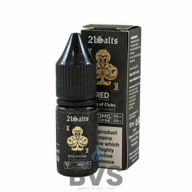 KING OF CLUBS NIC SALT E-LIQUID BY RED LIQUID 21
