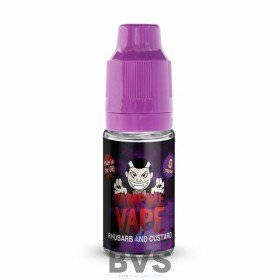 RHUBARB & CUSTARD E-LIQUID BY VAMPIRE VAPE - 10ML