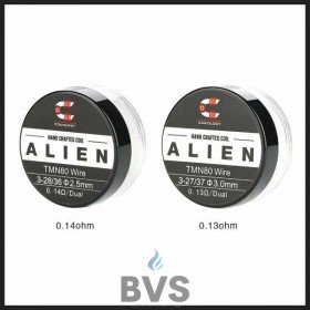 Coilology Pre Built Twisted Messes Alien [Ni80 0.13ohm or 0.14 ohm]