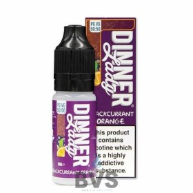 BLACKCURRANT ORANGE ELIQUID BY SUMMER HOLIDAYS DINNER LADY 50/50