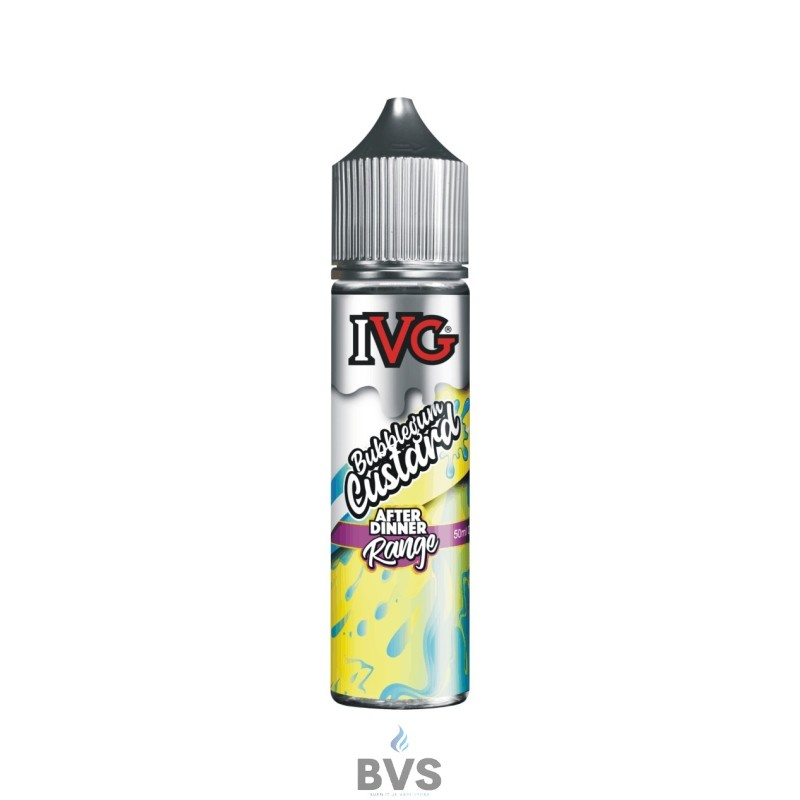 IVG BUBBLEGUM CUSTARD 50ML SHORTFILL