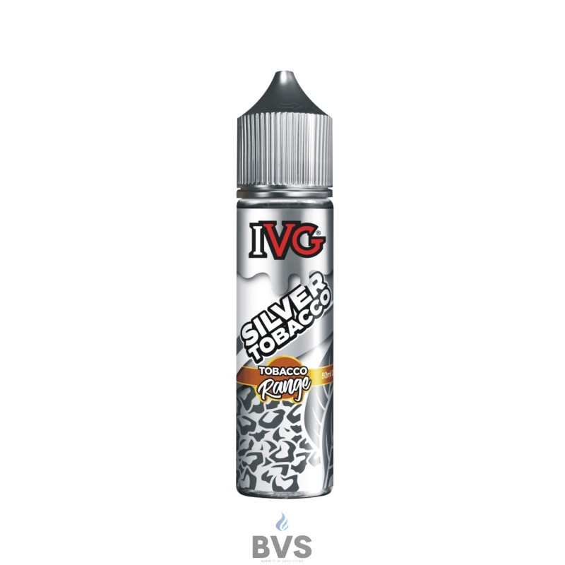 SILVER ELIQUID BY IVG TOBACCO 50ML