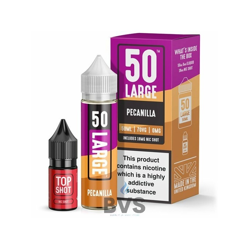 PECANILLA SHORTFILL E-LIQUID BY LARGE JUICE