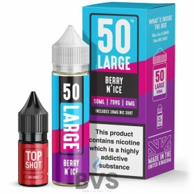 BERRY N'ICE SHORTFILL E-LIQUID BY LARGE JUICE
