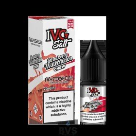 STRAWBERRY WATERMELON CHEW NIC SALT E-LIQUID BY IVG