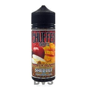 APPLE & MANGO SHERBET 100ML SHORTFILL by CHUFFED SWEETS ELIQUID